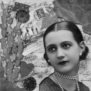 """""""Lovely Fern Digital Collage"""", Karen Buerene, Creative Commons License"""