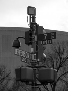 "takomabibelot, ""Streetlight Surveillance Camera & Antenna"", Creative Commons License"